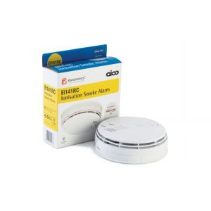 Aico EI141RC Ionisation Smoke Alarm - Mains Powered with Battery Back-up