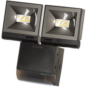 Timeguard LED Compact PIR Floodlight, 2 x 10W, Black