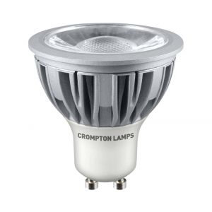 Crompton LED GU10 COB 5W Dimmable Spotlight, 45° Beam, Daylight