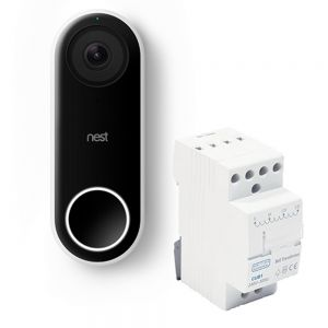 Nest® Hello Video Doorbell & BG CUB1 Bell Transformer