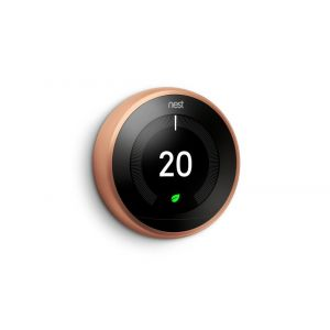 Google Nest® T3031EX Learning Thermostat - 3rd Generation, Copper