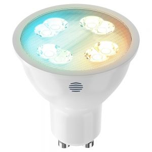 Hive Active LED Smart GU10 Spotlight, Dimmable, 5.4W, Cool to Warm White