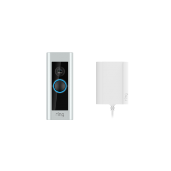 Ring Video Doorbell Pro & Plug-in Adaptor