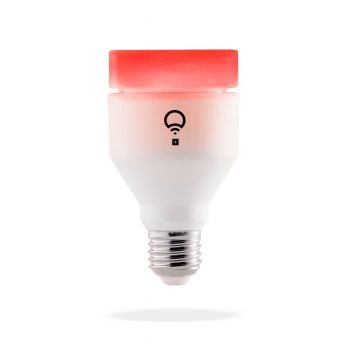 LIFX+ LED Smart E27 Bulb, Screw Fit, Tuneable, 11W, RGBSW Warm/Cool White
