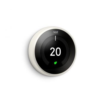 Google Nest® T3030EX Learning Thermostat - 3rd Generation, White